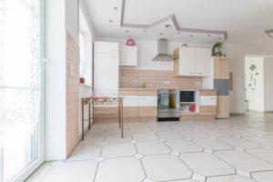 Küche im Erdgeschoss